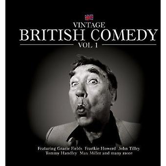 Vintage British Comedy - Vol. 1-Vintage British Comedy [CD] USA import