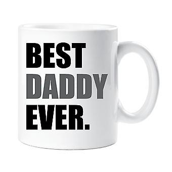 Beste Papa je Becher grau