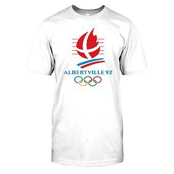 Albertville 92 - vinter OS Mens T Shirt