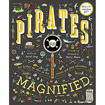 Pirates Magnified: With a 3x Magnifying Glass
