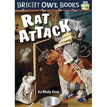 Rat Attack: Short Vowel a (Bright Owl Books)