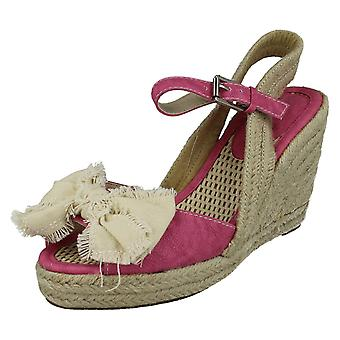 Sandales compensées de Mesdames Savannah L6058