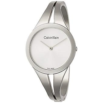 Calvin Klein ladies Quartz analogue watch with stainless steel band K7W2M116