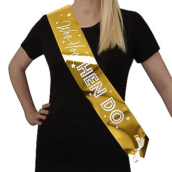 Woo Hoo poule Do - Hen Party Sash - Pack 4
