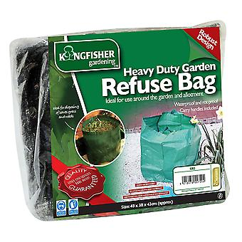 Kingfisher GB2 Strong Garden Waste Refuse Rubbish Bag Sack 55L Litre Capacity Waterproof