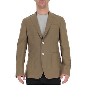 The Gigi Angietk201200 Men's Beige Cotton Blazer