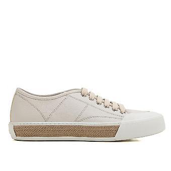 Tod's Xxw26a0t6405j1b015 Women's Beige Leather Sneakers