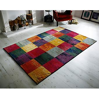 Kalejdoskop 566 C rektangel mattor moderna mattor