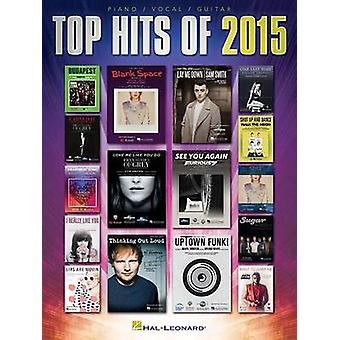 Top Hits of 2015 (PVG) - 9781495035432 Book