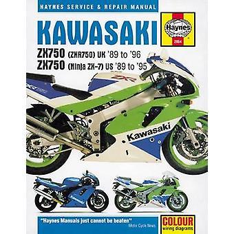 Kawasaki ZX750 Fours Service and Repair Manual - 9781785212727 Book