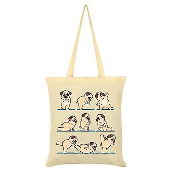 Grindstore Pug Yoga Tote Bag