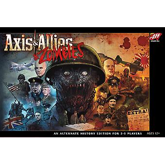 Axis & Allies & Zombies Brettspiel