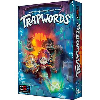 Czech Games Edition Trapwords Fast-Paced Party Board Game