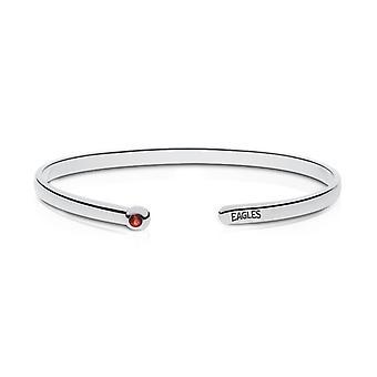 American University Ruby Cuff Bracelet In Sterling Silver Design by BIXLER
