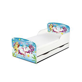 PriceRightHome magische Pony Kleinkind Bett mit Unterbett Lagerung