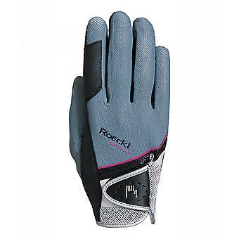 Roeckl Madrid (london) Riding Gloves - Grey