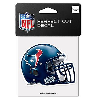 Wincraft Helm Aufkleber 10x10cm - NFL Houston Texans