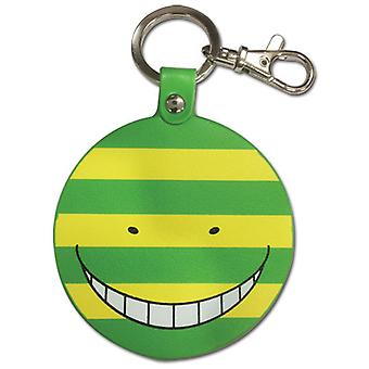 Key Chain - Assassination Classroom - Koro Sensei Mockery Stripes PU ge38592