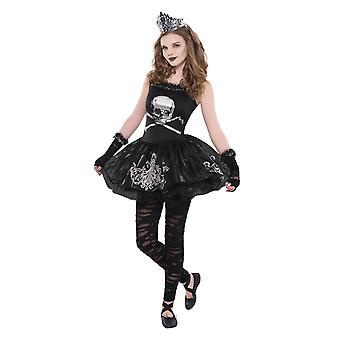 Filles Zomberina Halloween Fancy Dress Costume
