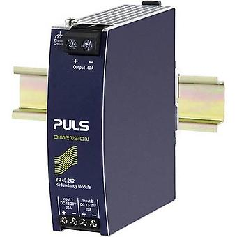 PULS YR40.242 Rail mounted redundancy (DIN) 40 A No. of outputs: 1 x
