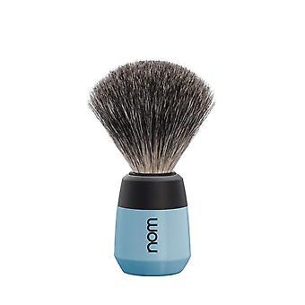 Nom Max Pure Badger Shaving Brush - Fjord