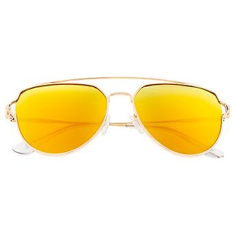 Sixty One Nudge Polarized Sunglasses - Gold/Yellow
