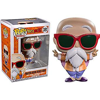 Dragon Ball Z Master Roshi Peace Sign US Pop! Vinyl