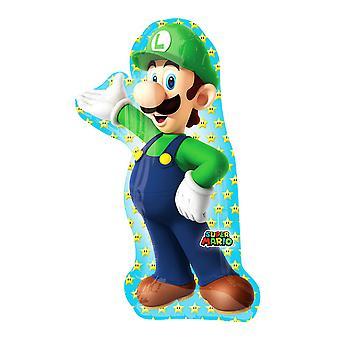 Anagram Super Mario Luigi Supershape Balloon