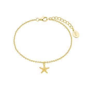 s. Oliver Jewel vrouwen armband armband zilver goud Starfish 2026126