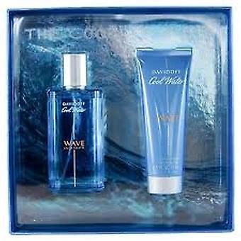 Davidoff cool Water Wave lahja setti 75ml EDT + 75ml suihku geeli
