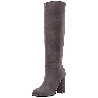 Steven door Steve Madden Womens Tila Suede gesloten teen knie High Fashion laarzen