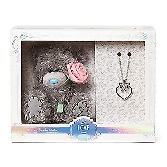 Me To You AGZ01008 Bridesmaid d' Honor Bear Necklace and Gift Set