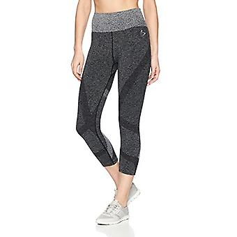 Beachbody Women-apos;s Intent Compression Crop, Noir, X-Small, Noir, Taille X-Small