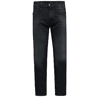 Replay Hyperflex skyer jeans sort