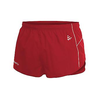 Craft Sports Shorts Breathable Men's Fitness Pants with Indoor Net Red