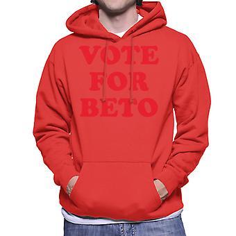 Vote For Beto O'Rourke Men's Hooded Sweatshirt