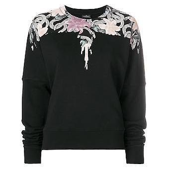 Flowers Wings Sweatshirt