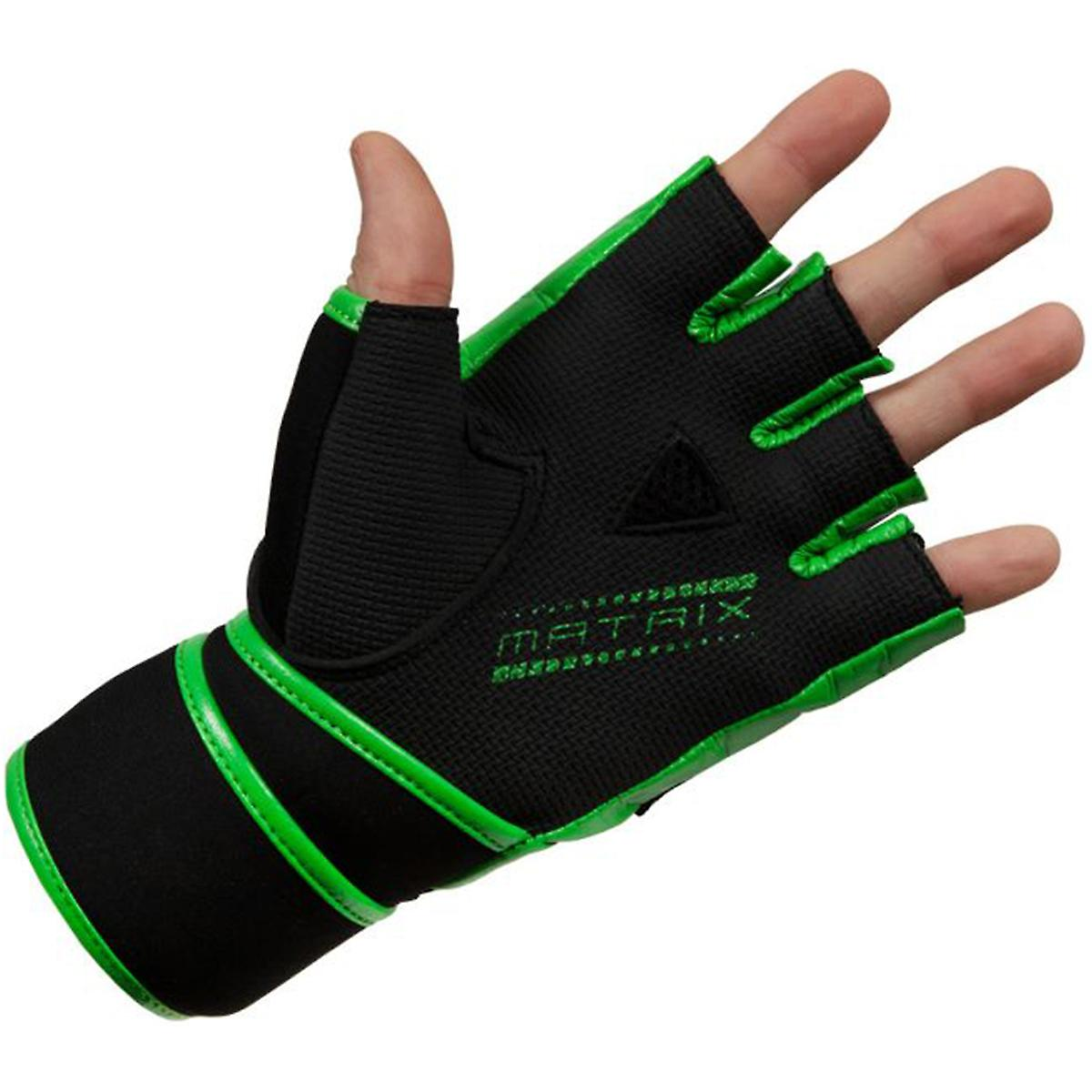 Title Boxing Matrix Quick Glove Wraps Black//Neon Green