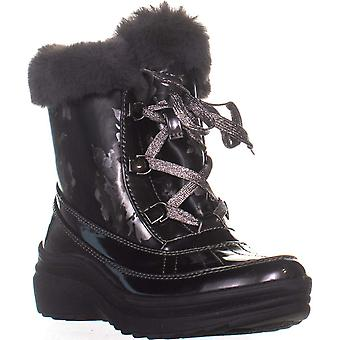Anne Klein Womens Gayla3 Fabric Round Toe Ankle Fashion Boots