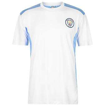 Source Lab Mens Gents Manchester City Poly Breathable Lightweight T Shirt Top