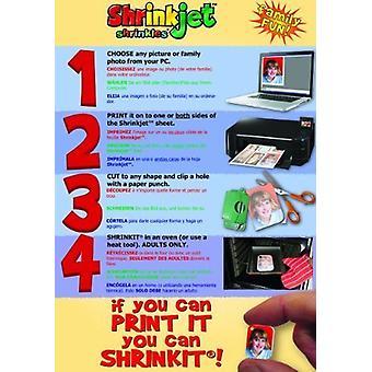 Shrinkjet - Shrinkles A6 - 50 Sheets
