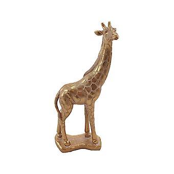Girafa cor de ouro 37 cm