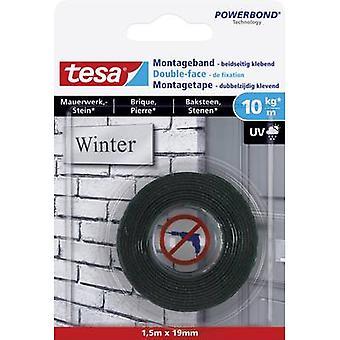 tesa 77748-00000-00 الشريط الصناعي tesa® POWERBOND الأسود (L x W) 1500 ملم × 19 ملم 1.5 متر