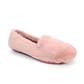 Slipper Republic Indus Pink Faux Fur Slipper