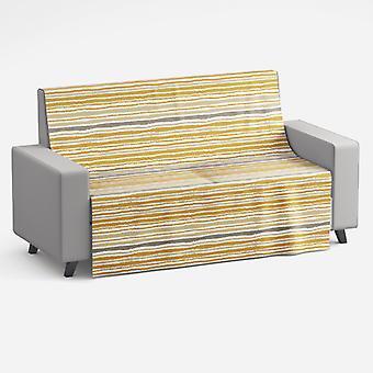 Meesoz Sofa Throw - Lineas Horizontales Oro