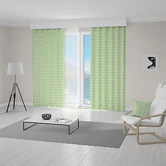 Meesoz Vorhänge - Retro Style Green