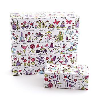 Tyrrell Katz Secret jardin Papier d'emballage