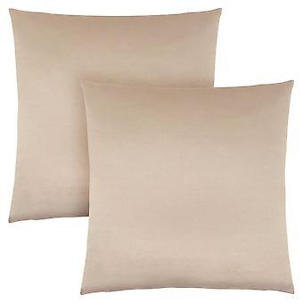 """18"""" x 18"""" Gold, Satin - Pillow 2pcs"""