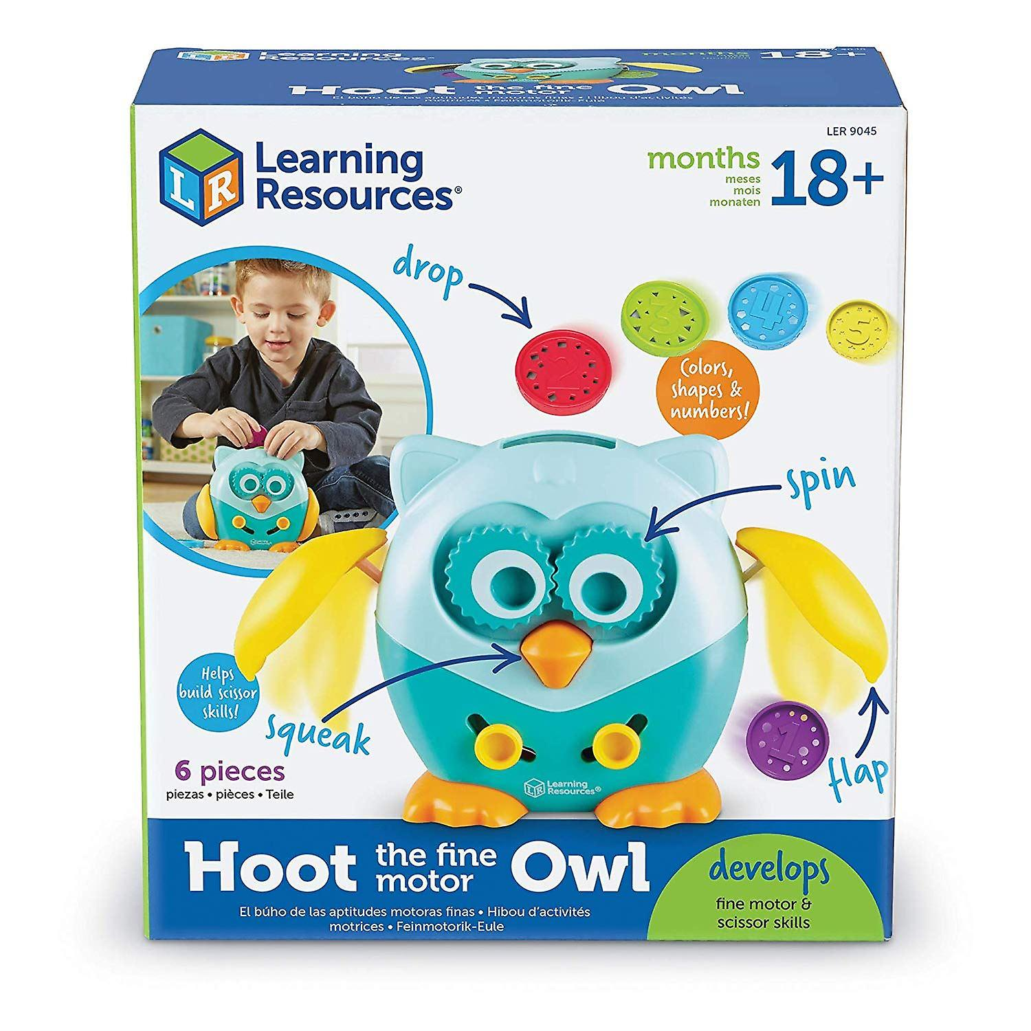 Learning Resources - Hoot the Fine Motor Owl