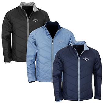 Callaway Golf Mens 2019 Performance Stretch Quilted Padded Jacket